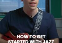Pickup Music How To Get Started With Jazz Guitar TUTORIAL